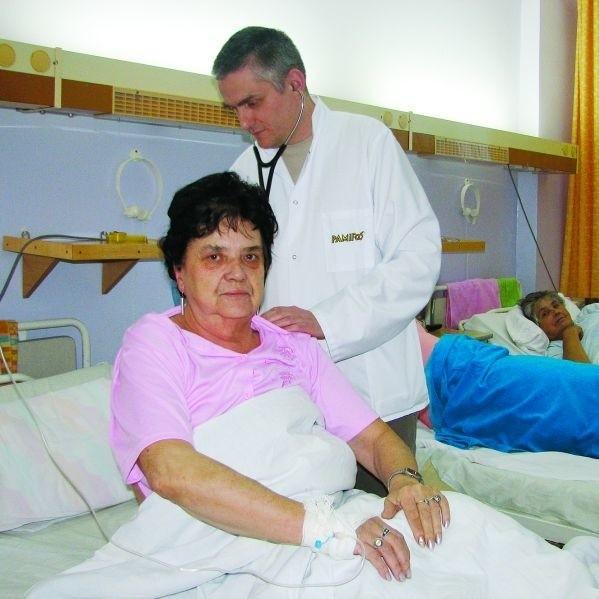 Na oddziale wewnętrznym, gdzie chorych doglądają np. onkolodzy, dyżury są już łączone. Ich łączenie jest generalnie jednym z elementów planu naprawczego.
