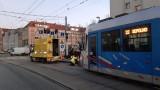 Na Kazimierza Wielkiego stanęły tramwaje. Awaria torowiska