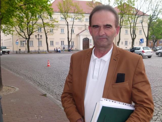 Mirosław Karcz jest szefem PSL w gminie Domaniewice, a zatakże członkiem powiatowych władz PSL w pow. łowickim