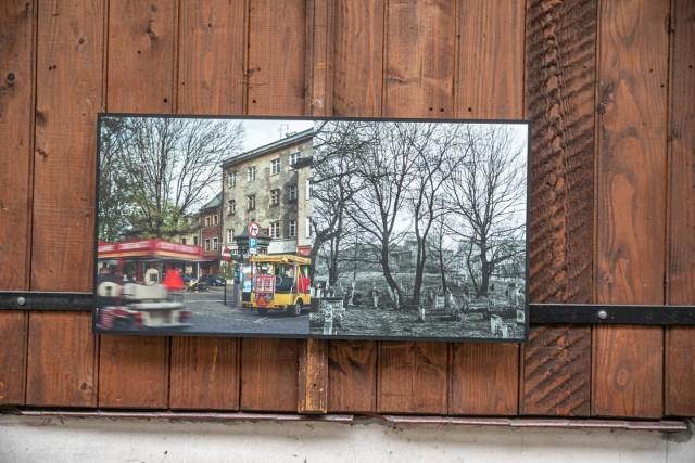 Wystawa fotografii Kazimierz dawniej i dziś na ul. Józefa