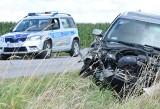 Wypadek w Goworówku, 3.08.2021. Zdjęcia z wypadku