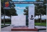 Pomnik Armii Krajowej w Łodzi. Stanął przy placu Hallera