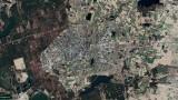 Kościerzyna widziana z kosmosu! Zobaczcie, jak zmieniało się miasto. Niecodzienna perspektywa!