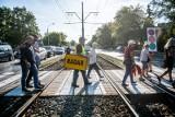 Poznań: Mieszkańcy Grunwaldu chcą zmusić kierowców do przyhamowania przed przejściem na ul. Grunwaldzkiej i Marszałkowskiej