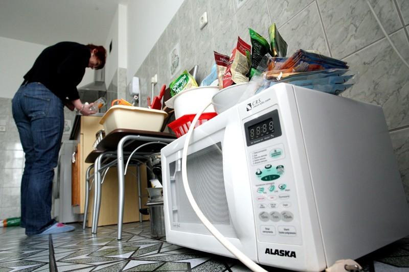 Pani Grażyna przed świętami została bez mebli kuchennych.
