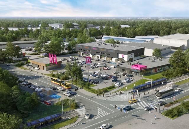 Wizualizacja nowej galerii handlowej N-Park