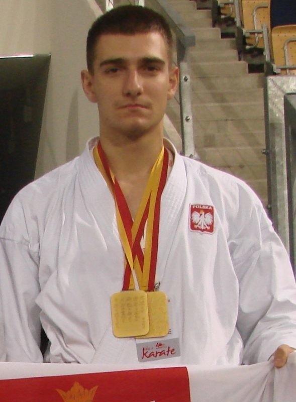 Jakub Głąb z AKT Rzeszów.