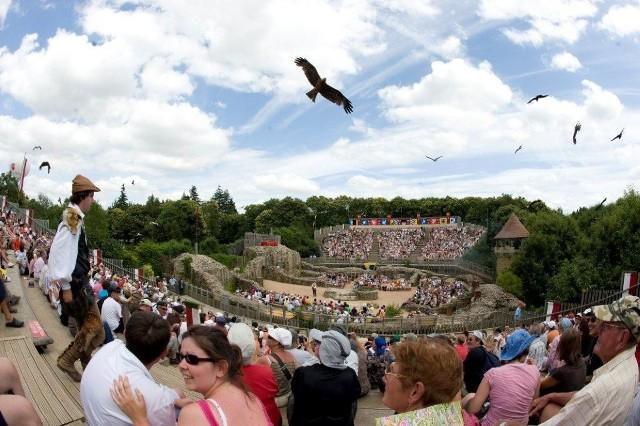 Widowiska powstające od kilku lat w Murowanej Goślinie wzorowane są na działalności parku rozrywki we francuskim Puy du Fou. Główną jego atrakcja są plenerowe widowiska historyczne.