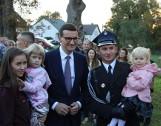 Kulisy wizyty premiera w rodzinnej wsi. Była rodzina i rosół na obiad [NOWE ZDJĘCIA]