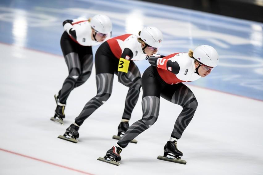 Karolina Bosiek, Natalia Czerwonka i Karolina Gąsecka finiszowały na piątej pozycji w zawodach Pucharu Świata w Nagano