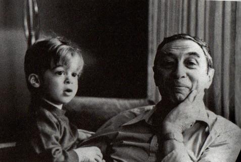 Leopold Tyrmand z synem