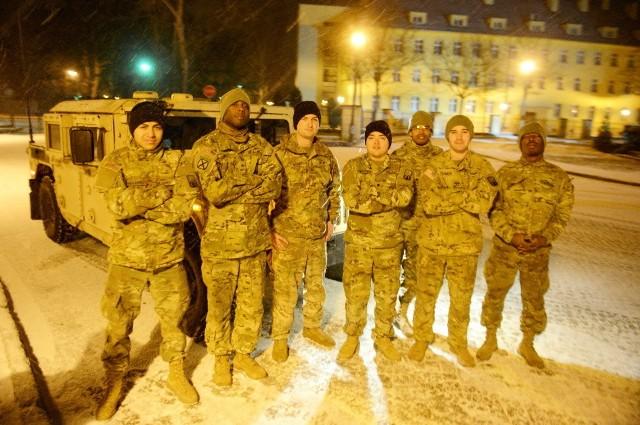 Zołnierze amerykańscy są już w Żaganiu