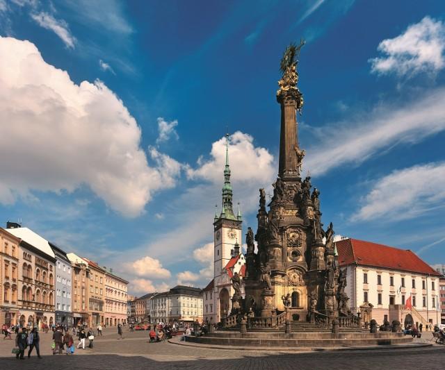 Kolumna Trójcy Przenajświętszej na Górnym Rynku w Ołomuńcu