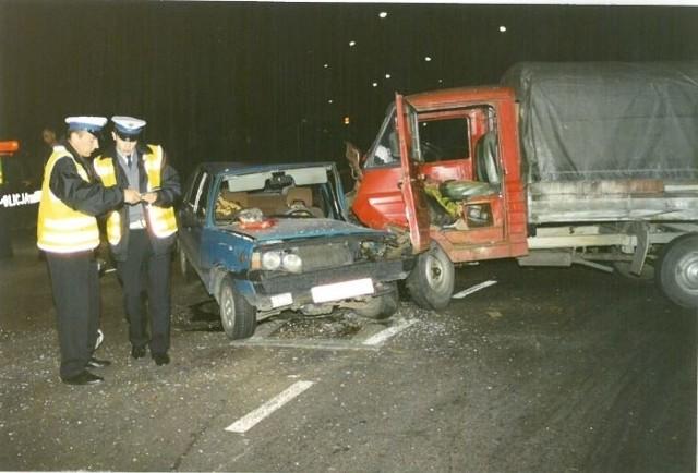 Niebezpieczne drogi Opolszczyzny w latach 90.