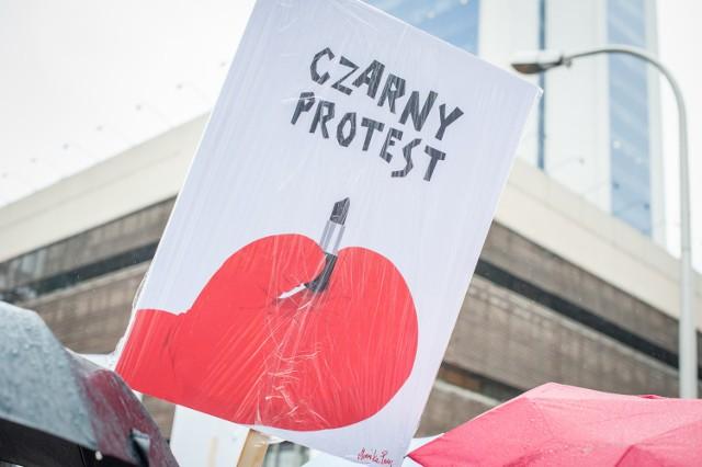 Czarne Protesty odbywały się w całej Polsce.