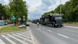 Wyścigi kolarskie w Białymstoku i okolicach. Al. Piłsudskiego zamknięta. Utrudnienia w ruchu już się zaczęły (zdjęcia)