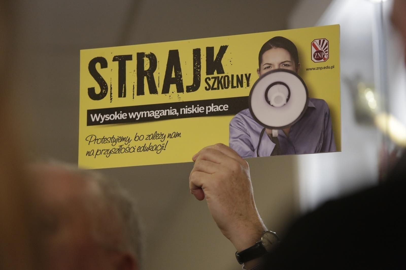 Strajk Nauczycieli 2019. 8 Kwietnia Rozpocznie Się Strajk