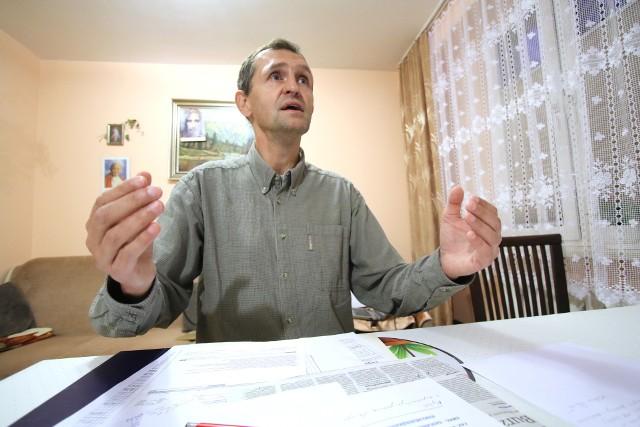 Jedną z osób czujących się oszukane jest Paweł Kokor, właściciel firmy Malbud. Za pracę nie zapłacono mu 18 tysięcy złotych.