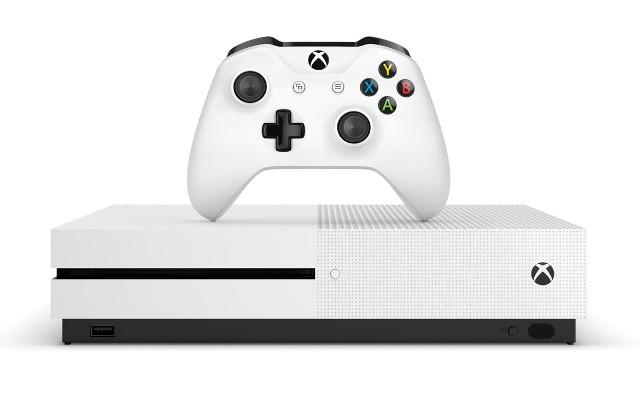 Xbox One SKonsola Xbox One S z nowym kontrolerem