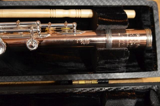 Niedawno do Filharmonii Pomorskiej trafił komplet fletów, wśród nich wykonane z 14-karatowego złota flety poprzeczne