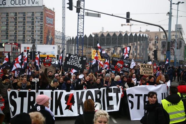 23.03.2018 Czarny protest w Warszawie