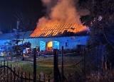 Pożar pod Wrocławiem. Cztery godziny walki z ogniem (ZDJĘCIA)