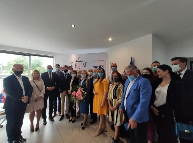 Marta Wcisło z Koalicji Obywatelskiej otworzyła biuro poselskie w Kraśniku