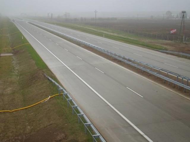 Autostrada juz gotowa (fot. Czesław Wachnik)