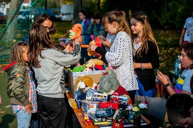 Jesienny Festyn Integracyjny w Szkole Podstawowej nr 6 w Kołobrzegu.