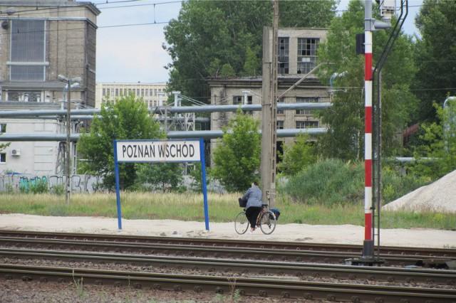 Poznań Wschód: Pociąg potrącił pieszego