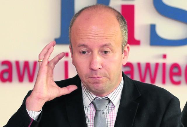 Marek Duklanowski - radny i szef klubu Prawa i Sprawiedliwości w szczecińskiej radzie miasta.