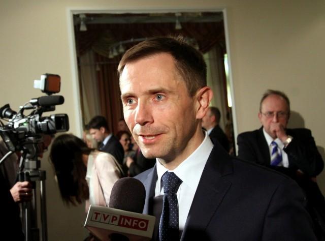 Grzegorz Muszyński unikał odpowiedzi na pytanie o miejsce pracy. Udało nam się ustalić, że pracuje w BGK Nieruchomości