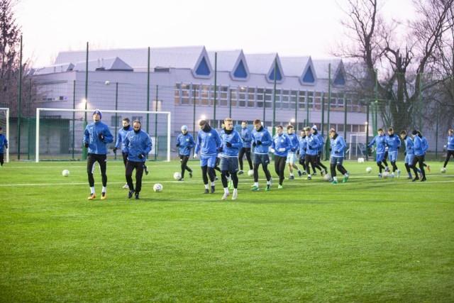 Piłkarze Hutnika będą zimą trenować na klubowych obiektach