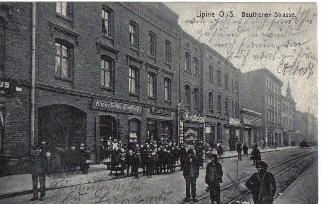 Archiwalne pocztówki Lipin