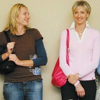 Agata Karczmarzewska-Pura (z lewej) i Marlena Mieszała są zadowolone z przeprowadzki do Białegostoku