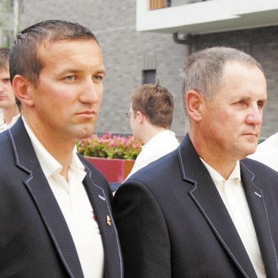 Marek Twardowski (po lewej) i Andrzej Siemion. Marzenie w głowach obu panów nadal jest takie samo.