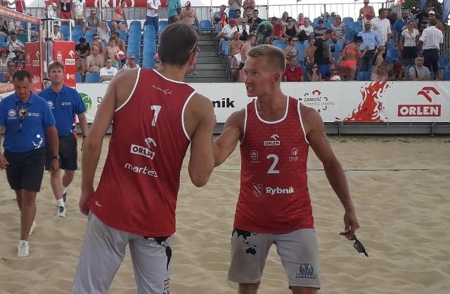 Michał Korycki z Przysuchy gra w parze z Martinem Chiniewiczem. Tym razem duet ten zanotował jedną wygraną i dwie porażki w turnieju Plaża Open Łodzi.