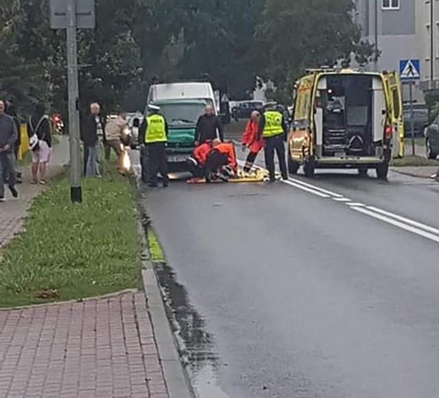 Do wypadku doszło we wtorek, 10 września, na przejściu dla pieszych przy Wyszyńskiego w Gorzowie
