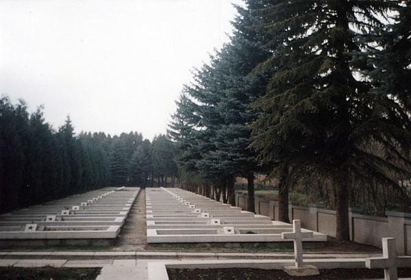 Cmentarz żołnierzy Armii Czerwonej w Baligrodzie.