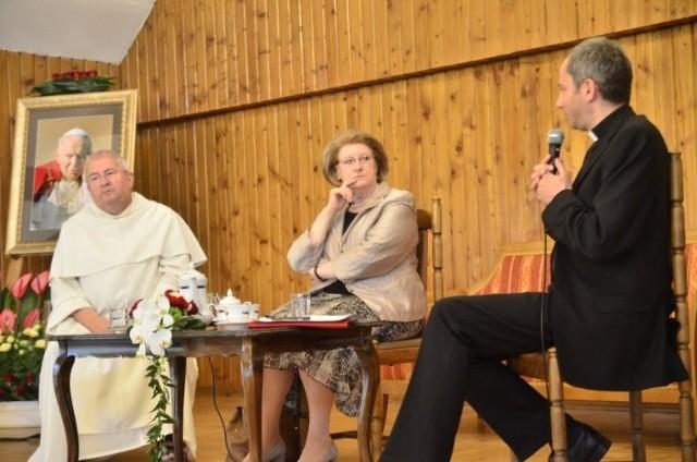 Hanna Suchocka i o. Jan Góra wspominali Jana Pawła II