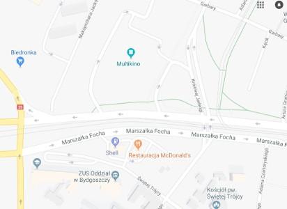 Potrącenie Mężczyzny Na Ul Focha W Bydgoszczy Z Poważnymi