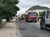 Przebudowa ulicy Konarskiego w Słupsku. Ruszyły prace nad inwestycją za ponad 3 miliony złotych