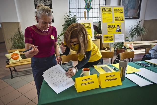 Strajk nauczycieli 2019 w Koszalinie