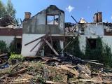 W Bieszczadach spłonął pensjonat. Trwa zbiórka na jego odbudowę[ZDJĘCIA]