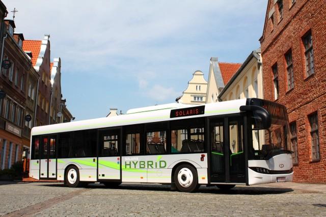 Szczecin: Nowy tabor, z nowym napędemTak wygląda Urbino 12 Hybrid, podobny był testowany w maju 2011 roku, w Szczecinie.