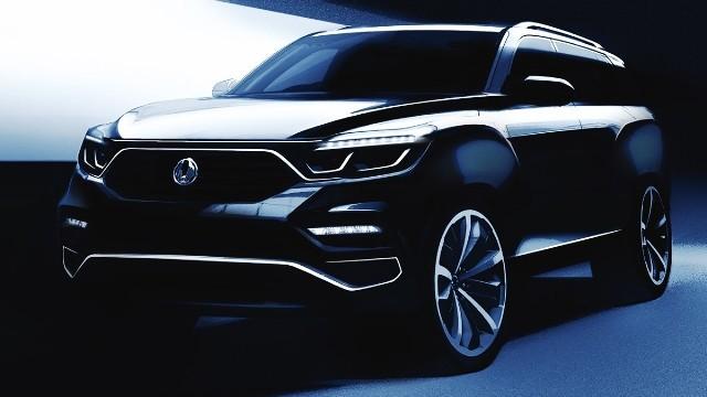 SsangYong udostępnił komputerową wizję nowego modelu nazwanego Y400 (nazwa projektu). To nowy flagowy SUV.