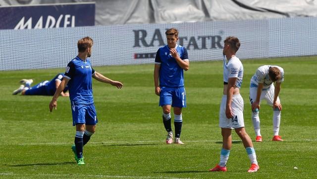 Stal Rzeszów przegrała u siebie z Lechem II Poznań 0:2 i straciła szanse na grę w barażach o I Ligę.