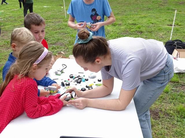 Festyn z okazji Dnia Dziecka na Osadzie Rycerskiej w Chełmnie