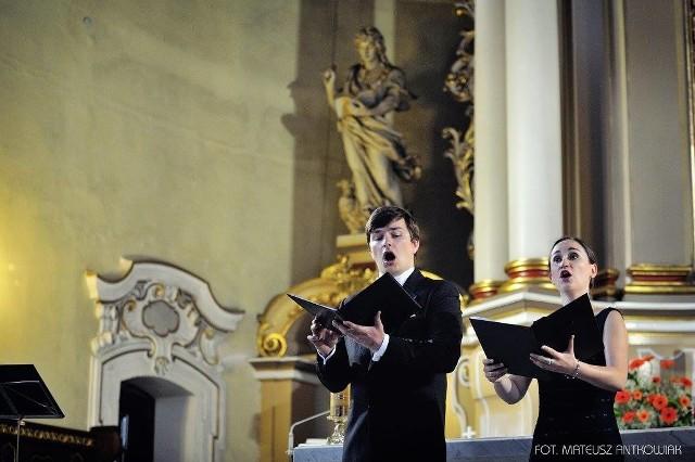 Koncert muzyki sakralnej w kościele pw. Bożego Ciała w Oleśnie.,