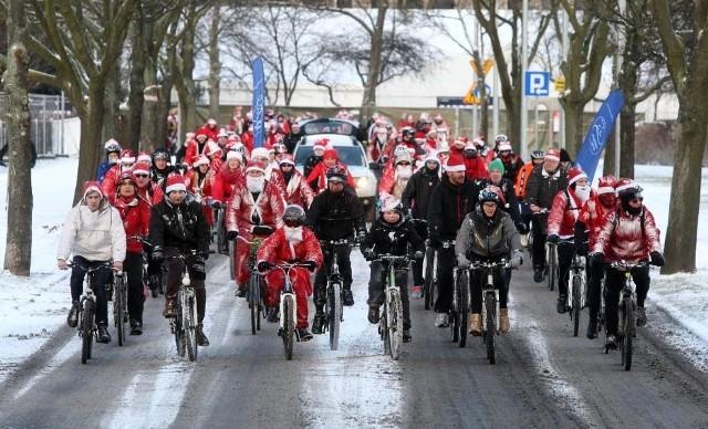 Mikołaje Na Rowerach przejadą przez całe Trójmiasto